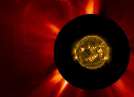 Coronal mass ejections fra Solen